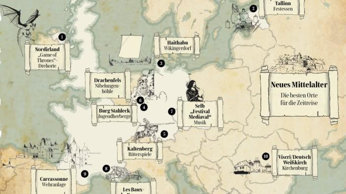 Haithabu Karte.Die Besten Orte Fur Die Zeitreise Ins Mittelalter Reise