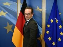 Außenminister Heiko Maas fordert nach dem Giftgas-Einsatz im syrischen Duma Konsequenzen.