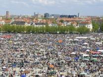 Flohmarkt auf der Münchner Theresienwiese, 2009