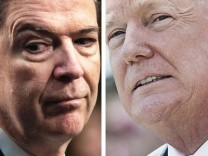 Comey und Trump