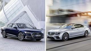 Audi A8 vs. Mercedes S-Klasse