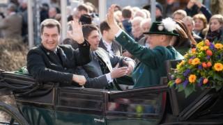 BRAUCHTUM TRADITION GEORGI RITT Markus Söder Bayerischer Ministerpräsident Siegfried Walch