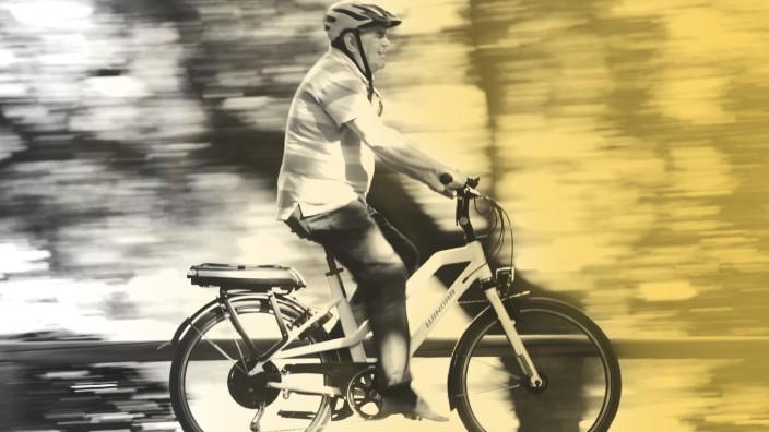 Blofl nicht absteigen:âÄRadfahren tut auch im hohen Alter noch gut