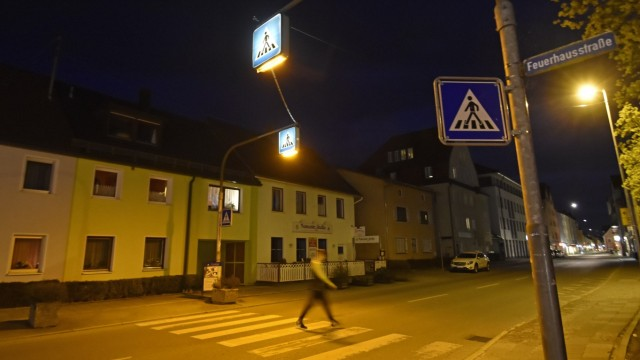 Fußgängerübergang Fußgängerübergang