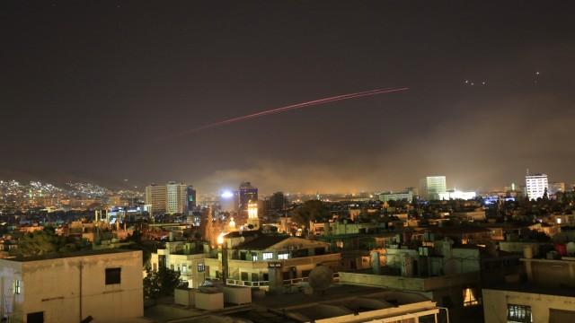 Politik Syrien Militärschlag in Syrien