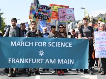 'March for Science' in Frankfurt