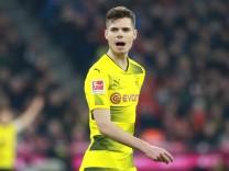 Julian Weigl Borussia Dortmund Fussball München Allianz Arena 31 03 2018 FC Bayern München; Julian Weigl Borussia Dortmund