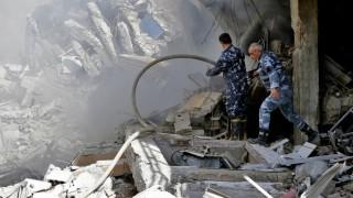 Internationale Zusammenarbeit Luftschläge gegen Syrien