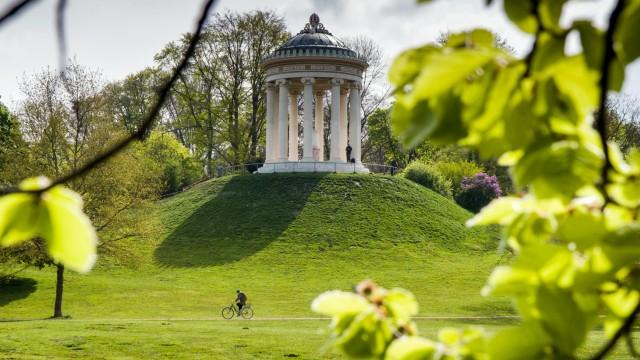 München Großeinsatz Der Polizei Im Englischen Garten München