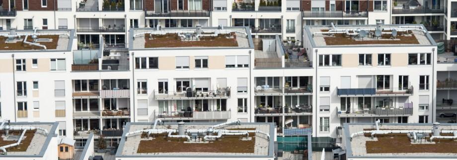 Neubauviertel in München, 2015