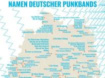 Punkbandkarte