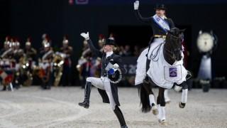 Paris FEI World Cup Finals 2018 WERTH Isabell GER Weihegold OLD VON BREDOW WERNDL Jessica GER