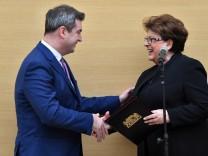 Sondersitzung des bayerischen Landtags
