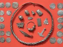 Silberschatz auf Rügen gefunden