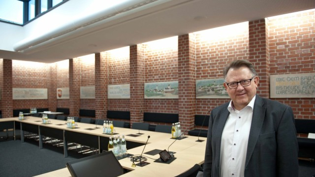 Georg Hohmann Bürgermeister Georg Hohmann