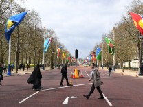 Commonwealth Heads of Government Meeting in London, United Kingdom - 16 Apr 2018