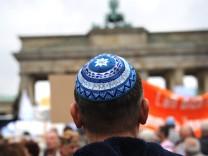 Kundgebung gegen Judenhass; jetzt Videoprojekt