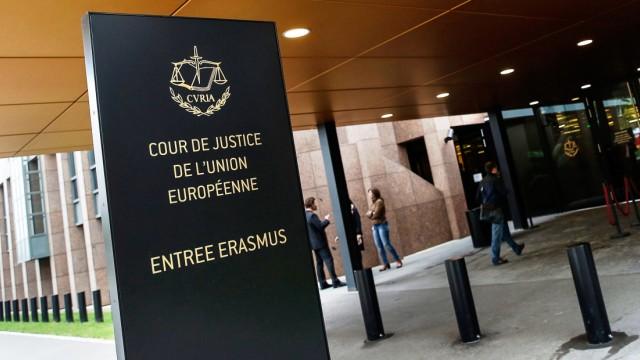 Der Europäische Gerichtshof in Luxemburg.