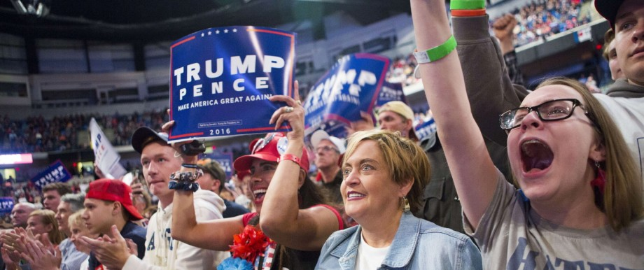 Donald Trump Holds Rally In Wilkes-Barre, PA