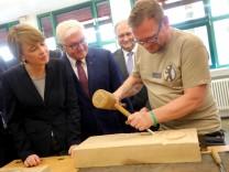 Steinmeier besucht Handwerkskammer Berlin am Ausbildertag