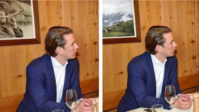 Politik Österreich Photoshop-Panne in Österreich