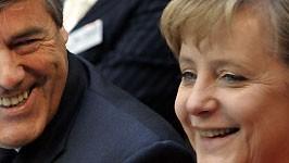 Merkel, Ackermann, AP