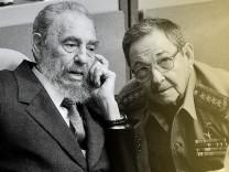 Raul und Fidel Castro