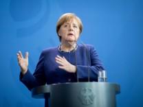 Bundeskanzlerin Merkel empfängt Premierministerin von Neuseeland