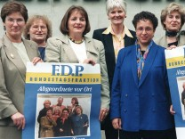 FDP-Aktion 'Frauen Power'