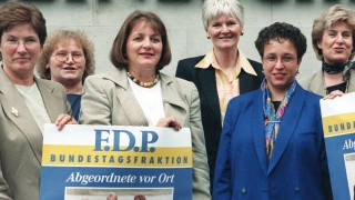 FDP-Aktion 'Frauen Power'