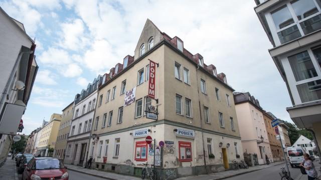 """Lokal """"Schwabinger Podium"""" in München, 2014"""