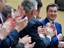 Regierungserklärung im bayerischen Landtag