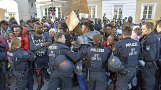 Politik in München Demonstration