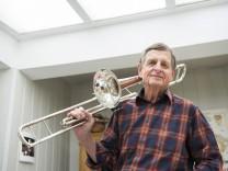 Putzbrunn, Jazzmusiker Werner Riedel,