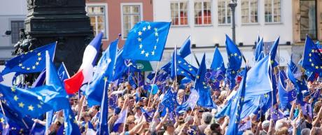 EU Europa Jugendliche Zustimmung