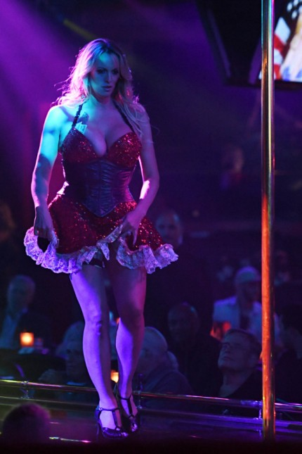 Stormy Daniels Performing at Solid Gold Club