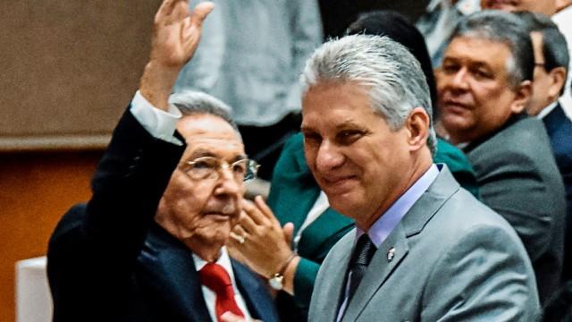 Politik Kuba Castro-Nachfolger
