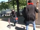 Gegen Macron: gewaltsame Ausschreitungen bei Demonstrationen in Paris (Vorschaubild)