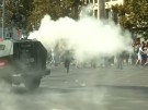 Heftige Szenen bei Studentenprotesten in Chile (Vorschaubild)