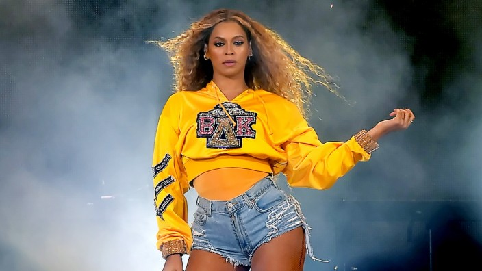 Beyonce at 2018 Coachella Valley Music And Arts Festival - Weekend 1 - Day 2