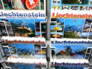 Liechtenstein-Postkarten, Foto: dpa
