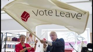 16 05 2016 London United Kingdom Boris Johnson campaigning for Vote Leave ahead of the EU refer