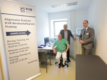 Der ärztliche Bereitschaftsdienst im Krankenhaus Freising entlastet mit der neuen Praxis die Notaufnahme