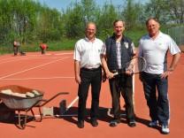 TSV Emmering neuer Tennisplatz.