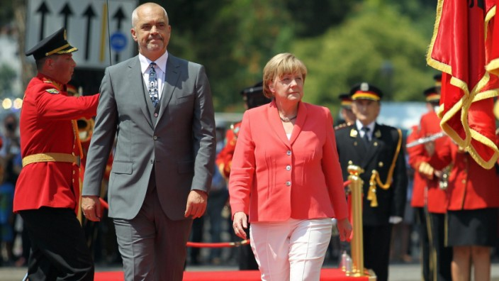 German Chancellor Angela Merkel expected for visit to Tirana
