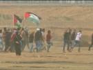 Palästinensische Demonstranten im Gaza-Streifen fordern ein Recht auf Rückkehr (Vorschaubild)