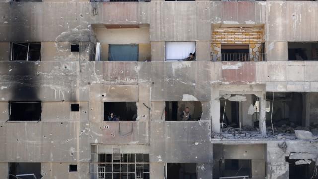 Konflikt in Syrien - Giftgasangriff auf Duma