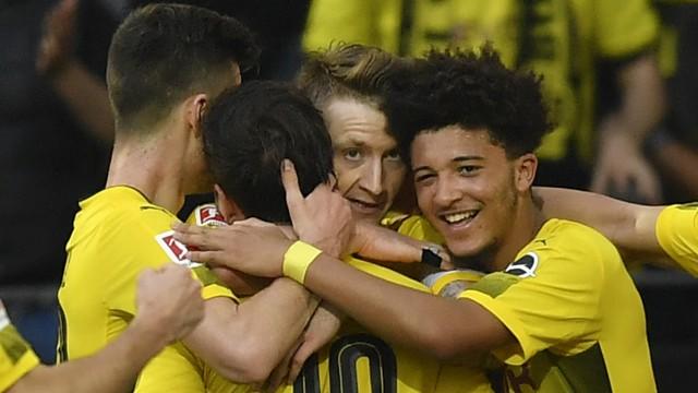 Sport am Wochenende Dortmund schlägt Leverkusen