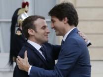 Kanadischer Premierminister in Frankreich