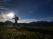 Milde Temperaturen am Alpenrand